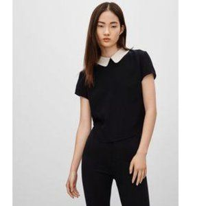 Aritzia Sunday Best Patterson Collared Blouse